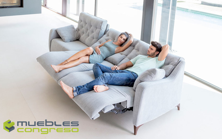 Sofá modular relax Fama Avalon