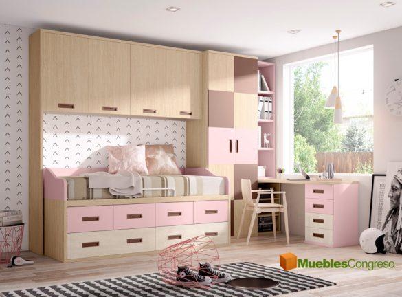 Dormitorios juveniles muebles congreso tienda de muebles for Muebles refolio dormitorios juveniles